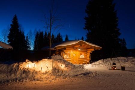 Carlsfelder Fackelwanderung mit gemütlichem Ausklang.Foto:Tourismusverband Erzgebirge e.V./ Studio2Media