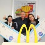 Losglück für gleich zwei Restaurant-Managerinnen