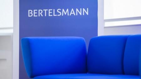 """Bertelsmann präsentiert """"Das Blaue Sofa Gütersloh"""" mit Dominique Horwitz"""