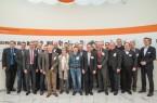 Insgesamt 27 Vertreter aus überwiegend kleinen und mittleren Unternehmen informierten sich bei der Delegationsreise über Industrie 4.0 und die Digitalisierung.