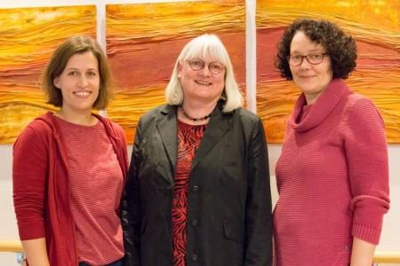 Das neue Leitungsteam der Palliativstation: Anja Herwig (stellvertretende pflegerische Leitung), Evelyn Braune (leitende Oberärztin) und Hildegard Schulze-Beckendorf (pflegerische Leitung).