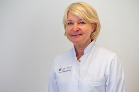 Dr. Wencke Ruhwedel, Chefärztin der Klinik für Frauenheilkunde und Geburtshilfe im Klinikum Gütersloh.