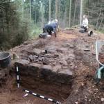 Ausgrabungen im Eggegebirge