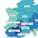 Übernachtungszahlen in NRW steigen seit 2008 an