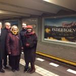Wewelsburgfoto ziert U-Bahnhof