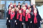 Viel Freude hatten die Sängerinnen vom Internationalen Frauenchor beim diesjährigen Workshop mit dem Chorchoach Rainer Stemmermann (hinten rechts).