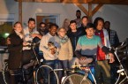Fahrradübergabe beim Heimatverein Asbeck.