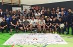 Gelebte Toleranz und Vielfalt am Tag gegen Rassismus, die Teilnehmer des Kin-Ball-Turniers.