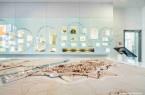 Schaufenster zur Stadtgeschichte mit dem Mindener Stadtmodell. © Mindener Museum