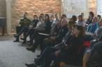 Aufmerksam verfolgten die Gäste den Vortrag von Julia Prokofieva. Foto: Stadt Lemgo/Marius Jortzik.