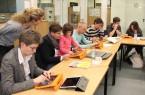 Nach der Präsentation der Ergebnisse konnte die Software von der Schulleitung, den Auftraggebern und Projektbegleitern getestet werden.