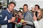 """Der Wimbledonsieger von 1991 prägte die beste Zeit im deutschen Tennis und ist heute noch einer der Publikumslieblinge auch bei den GERRY WEBER OPEN in HalleWestfalen. Der 49-jährige Michael Stich wird bei der """"schauinsland-reisen Champions Trophy"""" am 16. Juni 2018 zum letzten Mal in HalleWestfalen aufschlagen und sicherlich wieder die Autogrammwünsche seiner Fans erfüllen. © GERRY WEBER OPEN"""