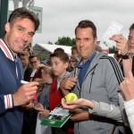 Tennisstar Michael Stich auf Abschiedstournee