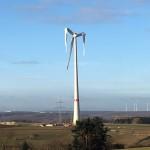 Beschädigte Windkraftanlage vorerst stillgelegt