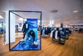 Pierre Cardin startet bei P&C und Anson's  richtungsweisendes Pop-up-Konzept mit 360°-Perspektive