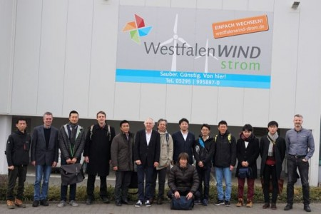 Japanische Delegation zu Gast in Paderborn – Informationen über Sektorenkopplung gefragt.Foto: WestfalenWIND GmbH