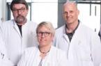 Chefarzt Friedrich Burghardt, Dr. Liane Sickmann und Dr. Peer Scharnberg (v.l.) sorgen für Patienten mit Tumorerkrankungen.