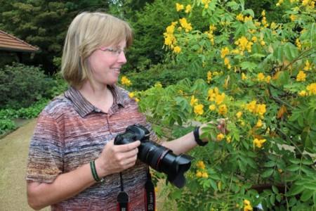 Foto-Workshop mit der Gartenexpertin Daniela Toman: Die besten Gartenfotos werden in einer Ausstellung präsentiert.