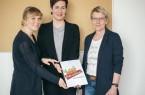 v.l.n.r: Alina Klöcking, Lisa Husemöller, Gudula Ebeling. © Paulines Töchter e.V.