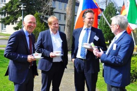 Experten diskutieren in Detmold