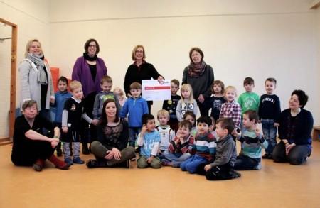 Soforthilfe für benachteiligte Kinder spendet für das Projekt
