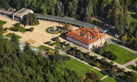 Größtes mährisches Kurbad Luhačovice. Foto: CzechTourism/Libor Sváček