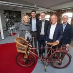 Unternehmensbesuch Oberbürgermeister Clausen bei Hebie GmbH & Co. KG