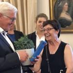 Delegation der Uni Paderborn zu Gast beim Bundespräsidenten