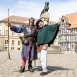 Ritterglanz auf dem Burgplatz