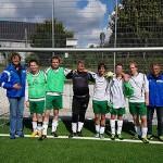 Fußball-Turnier für Menschen mit Behinderung in Tönnies Arena