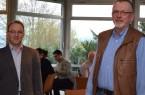 Dr. Detlef Michael Ringbeck (li.) und Dr. Rolf Schulte informierten Notärzte zur Reanimation.