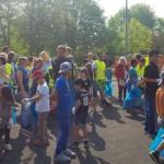 """Mehr als 60 Freiwillige machten bei der Aktion """"Saubere Landschaft"""""""