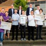 """Schülerpreis """"Einstein-OWL"""" an Nachwuchsforscher verliehen"""