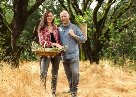 SingleThread-Gründer Kyle und Katina Connaughton auf ihrer Farm (Foto: SingleThread/ Roman Cho)