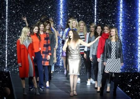 Die Fashion Show der Marken GERRY WEBER, TAIFUN, talkabout und HALLHUBER begeisterte die Besucher im Event Center. © GERRY WEBER OPEN HalleWestfalen