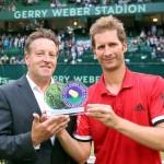 Excellence Award der GERRY WEBER OPEN für Florian Mayer