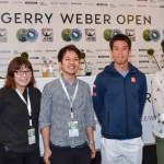 TV-Team von WOWOW bei den GERRY WEBER OPEN