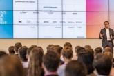 Talent Meets Bertelsmann 2018: Bertelsmann Personalvorstand Immanuel Hermreck. Foto:Bertelsmann