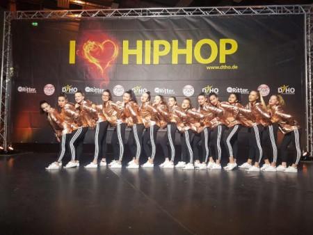 Die Gütersloher Hip Hop-Formation brachte jetzt Gold mit nach Hause. © Stadt Gütersloh