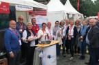 as engagierte Team aus Rheda-Wiedenbrück präsentierte sich zum ersten Mal im Westfälischen Dorf.