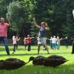 Guter Start für Sport im Park