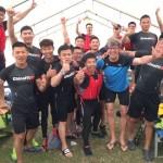 Gäste aus China beeindruckten beim 20. Weserdrachencup