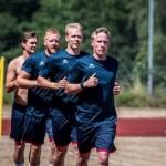 Trainingsauftakt des deutschen Handballmeisters SG Flensburg-Handewitt