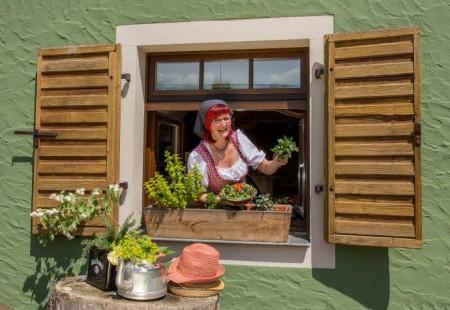 Auch in der Bergstrasse 10 in Holzhau wird kulinarisch aufgetischt.