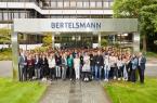 Start ins Berufsleben: 186 junge Menschen starten in diesen Tagen ihre Ausbildung bei Bertelsmann. © Bertelsmann, Fotograf Kai Uwe Oesterhelweg.