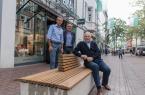 Bild von links nach rechts: Peter Oesterhelweg, Bernd Sperling, Albrecht Diekötter (Vorstand ISG Mittlere Berliner Straße)