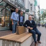 Neue Sitzmöblierung für die Mittlere Berliner Straße