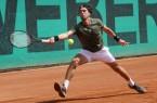: Halles Spanier Daniel Munoz-de la Nava musste seinem Landsmann den Sieg überlassen. © Kurt Vahlkamp (Blau-Weiss Halle)