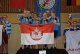 Sieger, 11-14 Jungen: vorne v.l.: Florian Beckmann, Niels Freckmann, Niklas Gieselmann, Laurin Büning. Hinten v.l.: Theo Sparrmann, Jannik Skroblin, Timo Roesler (Trainer), Stephan Kästner (Trainer).