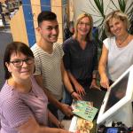 Bücherei der Stadt Höxter auf neuen modernen Wegen